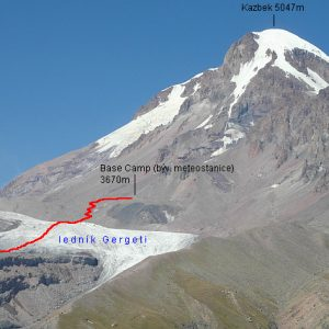 Georgia – Mt Kazbek Climb